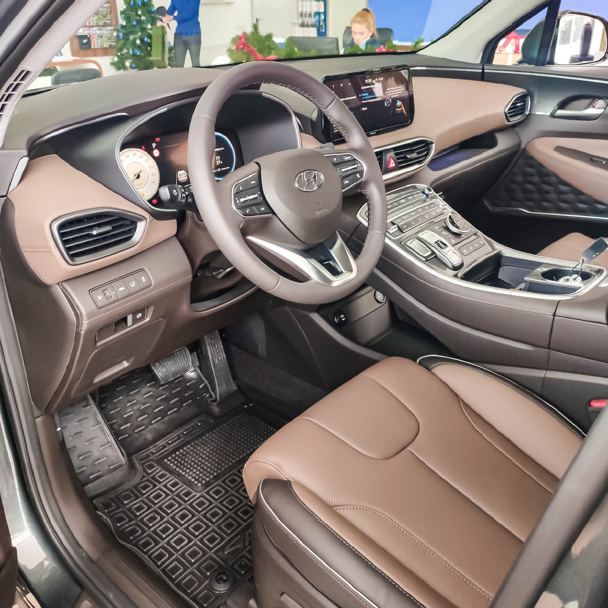 Якби комфорт і розкіш можна було б описати - це був би Hyundai Santa Fe!   Хюндай Мотор Україна - фото 9